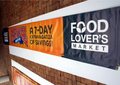 Foodlovers Market banners