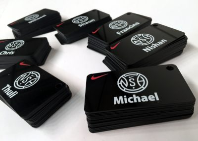 Nike Tags printed